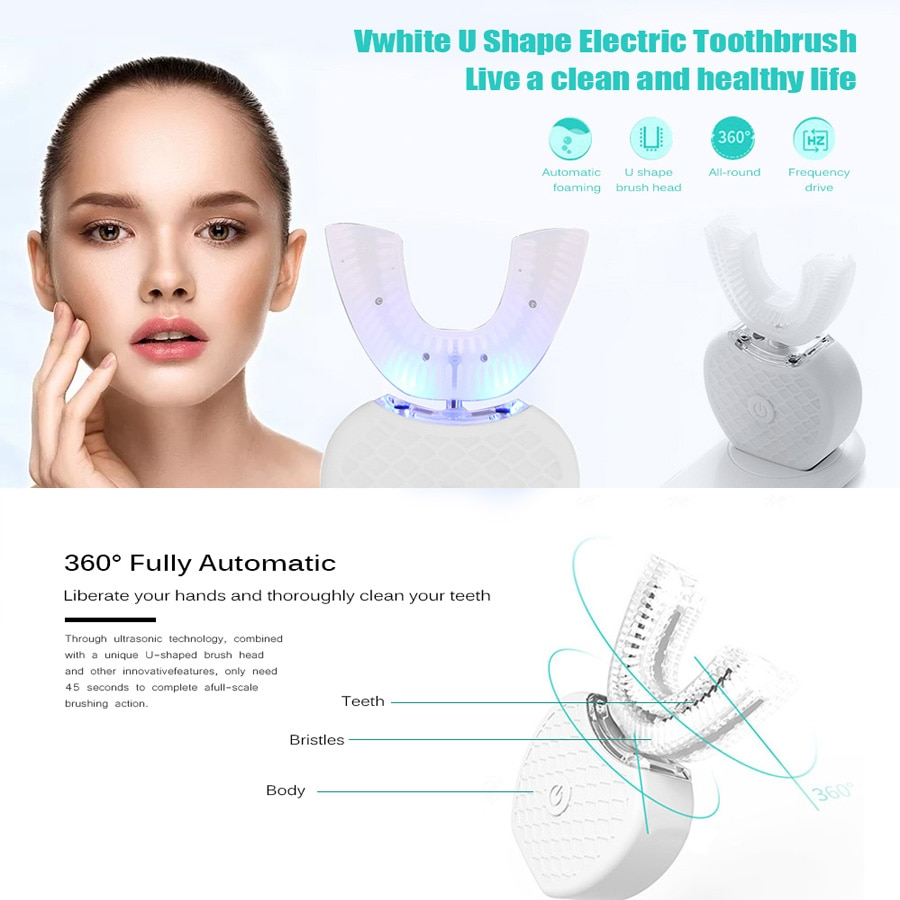 auto ultrasonic toothbrush