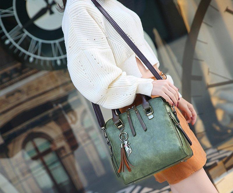 tassel ladies handbag