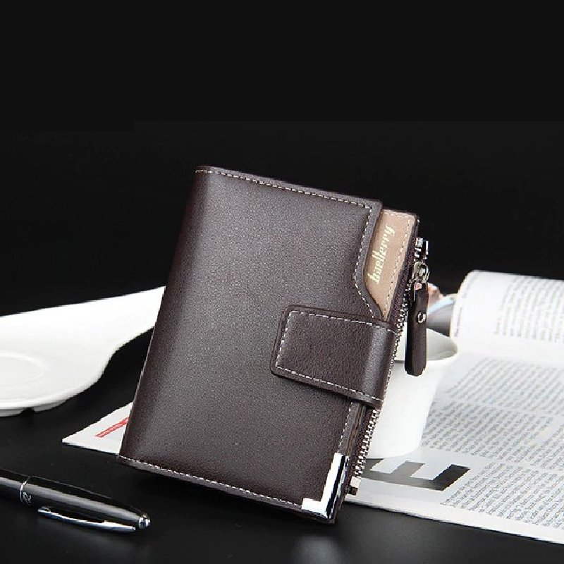 men PU leather wallet